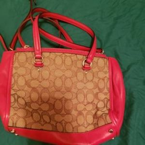 Coach Bags - Authentic coach **USED ONCE Satchel / crossbody